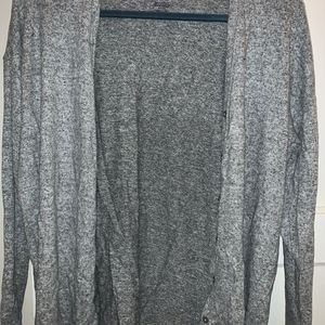 Gray American Eagle Soft and Sexy Cardigan